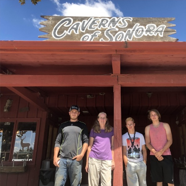 127 Faith Foundation Orphans visit Caverns of Sonora