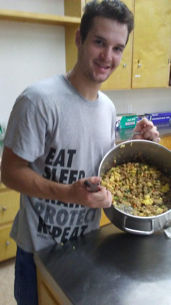 Zach In The Kitchen